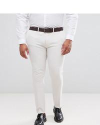 Pantalón de vestir en beige de ASOS DESIGN