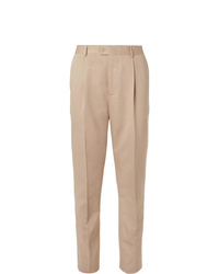Pantalón de vestir en beige de Brunello Cucinelli