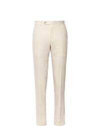 Pantalón de vestir en beige de Canali