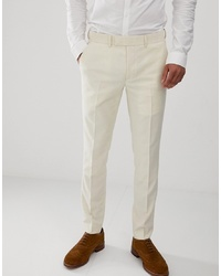 Pantalón de vestir en beige de Farah Smart
