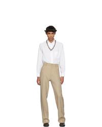 Pantalón de vestir en beige de Random Identities