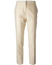Pantalón de vestir en beige de Salvatore Ferragamo
