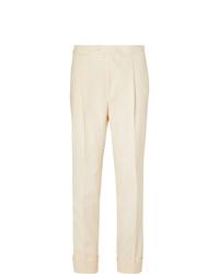 Pantalón de vestir en beige de Saman Amel