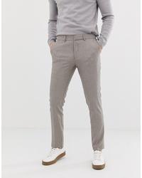 Pantalón de vestir en beige de Selected Homme