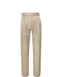Pantalón de vestir en beige de Zanella