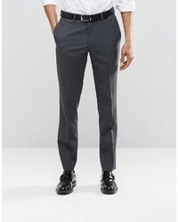Pantalón de vestir en gris oscuro de Asos