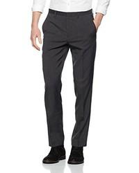 Pantalón de vestir en gris oscuro de Burton Menswear London