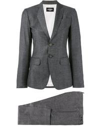 Pantalón de vestir en gris oscuro de Dsquared2