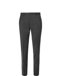 Pantalón de vestir en gris oscuro de Hugo Boss