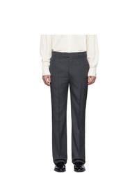 Pantalón de vestir en gris oscuro de Lemaire