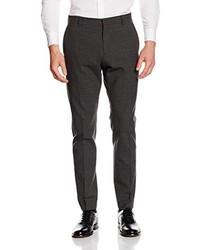 Pantalón de vestir en gris oscuro de Selected Homme