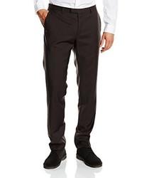 Pantalón de vestir en marrón oscuro de Bugatti