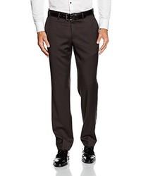Pantalón de vestir en marrón oscuro de Hiltl