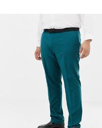 Pantalón de vestir en verde azulado de Farah Smart
