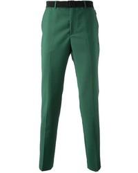 Pantalón de vestir en verde menta de Kris Van Assche