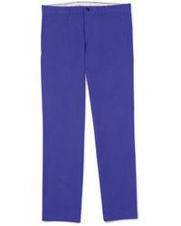 Pantalón de vestir en violeta