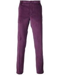 Pantalón de vestir en violeta de Etro