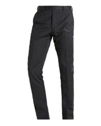 Pantalón de Vestir Gris Oscuro de Cortefiel