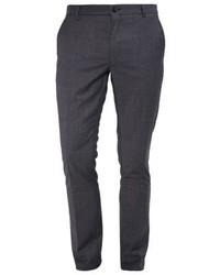 Pantalón de Vestir Gris Oscuro de Hugo Boss