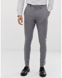 Pantalón de vestir gris de ASOS DESIGN