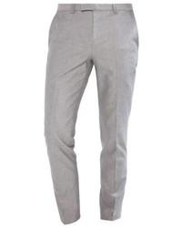 Pantalón de Vestir Gris de Hugo Boss