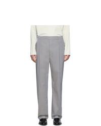 Pantalón de vestir gris de Lemaire