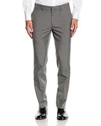 Pantalón de vestir gris de New Look