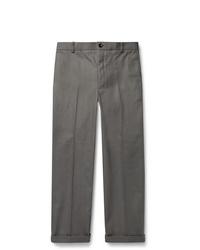 Pantalón de vestir gris de Thom Browne