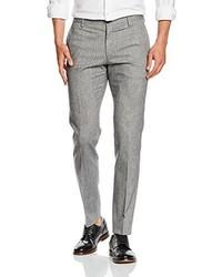 Pantalón de vestir gris de Tommy Hilfiger