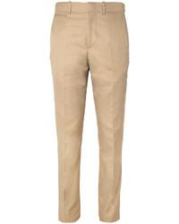 Pantalón de vestir marrón claro de Alexander McQueen