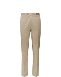 Pantalón de vestir marrón claro de Canali
