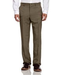 Pantalón de vestir marrón de Perricone MD