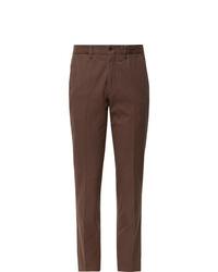 Pantalón de vestir marrón de Rubinacci