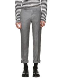 Pantalón de vestir marrón de Thom Browne