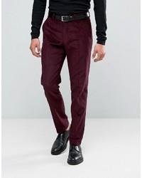 Pantalón de vestir morado oscuro de Asos