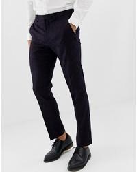 Pantalón de vestir morado oscuro de Burton Menswear
