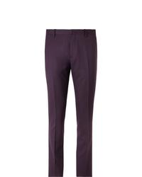 Pantalón de vestir morado oscuro de Paul Smith