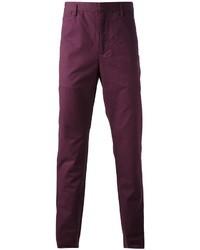 Pantalón de vestir morado de Marc by Marc Jacobs