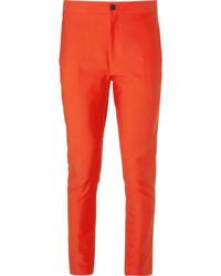 Pantalón de vestir naranja de Acne Studios