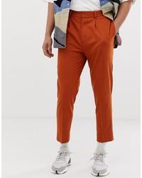 Pantalón de vestir naranja de ASOS DESIGN