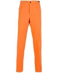 Pantalón de vestir naranja de Pt01