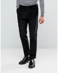 Pantalón de Vestir Negro de Asos