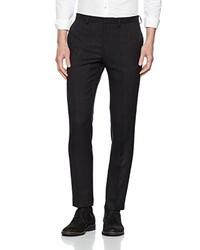Pantalón de vestir negro de Burton Menswear London