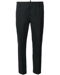 Pantalón de vestir negro de Dsquared2