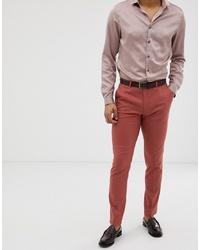 Pantalón de vestir rosa de ASOS DESIGN