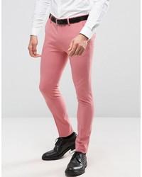 Pantalón de vestir rosa de Asos