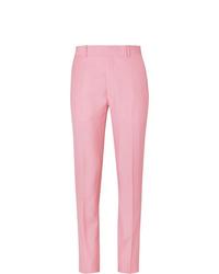 Pantalón de vestir rosado de Alexander McQueen