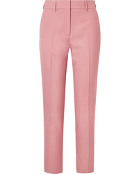 Pantalón de vestir rosado de Burberry