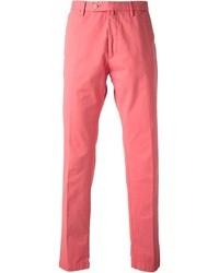 Pantalón de vestir rosado de Hackett