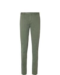 Pantalón de vestir verde oliva de Boglioli